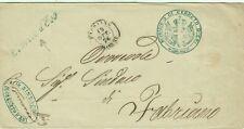 923-MARCHE, FRANCHIGIA, DA CERRETO D' ESI A FABRIANO, 1874