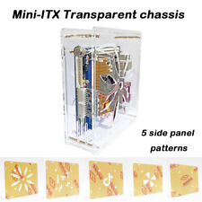 ITX transparent mini chassis Desktop computer simple case HTPC chassis acrylic
