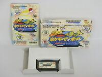 POKEMON PINBALL Ruby Sapphire Ref/ccc Game Boy Advance Nintendo Japan gba