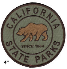 California State Parks HOOK /& LOOP Firearms Program Instructor Patch