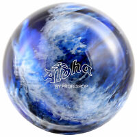 Bowling Ball Aloha Space 6 - 16 lbs, schwarz blau silber Bowlingkugel Spareball