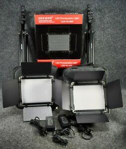 Neewer Dimmable 660 LED Video Light Bi-Color Photography Lighting Kit (2 Lights)