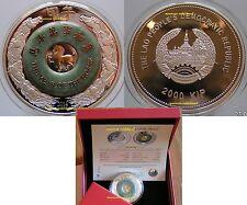 Jahr des Pferdes   2000 Kip 2014   Laos   mit Jade !!!