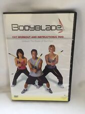 Bodyblade Cxt workout and instructional dvd exercise fitness