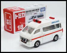 TOMICA #18 NISSAN NV350 CARAVAN AMBULANCE 1/69 TMOY 2013 July New