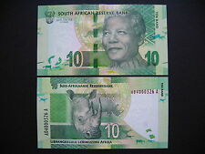 SOUTH AFRICA  10 Rand 2012  (P133)  UNC