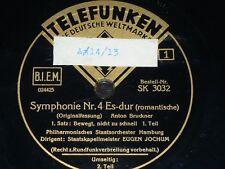 ORCHESTRA 7 x 78rpm RECORDS PHILARMONISCHES STAATSORCHESTER HAMBURG Eugen Jochum