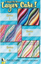 I Used To Be A Layer Cake by Black Cat Creations Bargello 3 Versions Jelly Roll