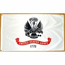 5x8 ft Us Army Official Military Insignia Flag Outdoor Nylon Made in Usa