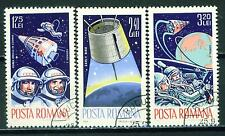 Romania Soviet Space Voskhod 2 Flight set 1965