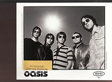 oasis limited edition press kit #2