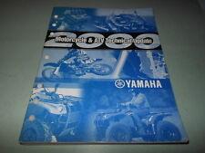 Yamaha Motorcycle & Atv Technical Update Manual 2000 #Lit-17500-00-2K