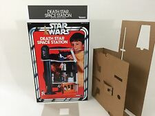 brand new star wars kenner death star box and inserts deathstar