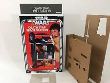 brand new star wars kenner death star box and inserts deathstar