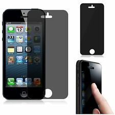 3X Privacy Anti-Spy LCD Screen Protector Cover film  Apple iPhone 5 5S 5C