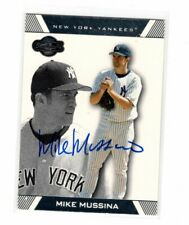 2007 Topps Co-Signers Mike Mussina Auto Signed Card #26