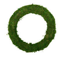 "6.5"" Preserved Moss Wreath, DIY Brides Weddings, Home Decor, Craft Supplies"