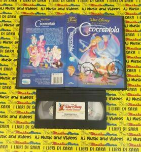 VHS film CENERENTOLA animazione 1992 WALT DISNEY VS 4380 (F155) (8*G) no dvd