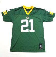 NFL Team Apparel Green Bay Packers Jersey# 21 Woodson Youth Shirt sz XL 18-20