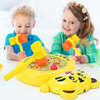 Kid Toy Hammer Game Toy Set with Sound Effects Music and Lights for Children