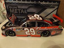 Kevin Harvick #29 Budweiser Gun Metal Impala Action 1/24 2012 1 of 283