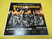 DEVIL'S ANGELS SOUNDTRACK LP DUOPHONIC BIKER