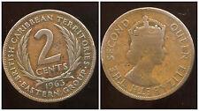 est CARAIBES  2 cents  1963