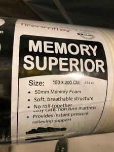 5' Superior Memory Foam Mattress x20 NEW OLD STOCK