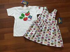 HTF RARE NWT Vintage Oshkosh B'Gosh Dress Shirt 4T Vegetable Floral Made In USA