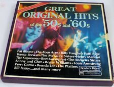 NM 1971 GREAT ORIGINAL HITS OF THE 50s & 60s Weavers Bill Haley++ 9xLP Box Set