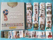 Russia 2018 Album + 1 set complet  stickers non collés PANINI Foot crème blanc