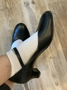 Capezio Character Shoes Featuring EB Smith added taps-women's 9 1/2M