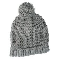 Gorra de mujer de color principal gris de lana