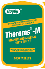Rugby Therems-M Vitamins and Minerals Supplement 1000 CT