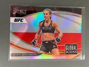 Joanna Jedrzejczyk 2021 Select UFC Global Icons Insert Silver Prizm #22 C22