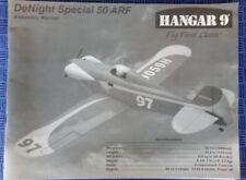 HANGAR 9  DeNIGHT Spécial 50 ARF. ASSEMBLY MANUAL.