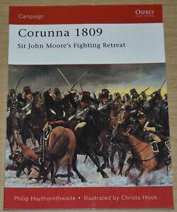 CORUNNA 1809 BATTLE Fighting Retreat Napoleonic Wars - Osprey Campaign Series