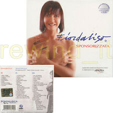 """FIORDALISO """"SPONSORIZZATA"""" RARO DOPPIO CD + DVD. NUOVO SIGILLATO"""