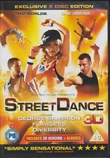 STREETDANCE 2D & 3D George Sampson*Flawless*Diversity Musical Drama DVD *EXC*