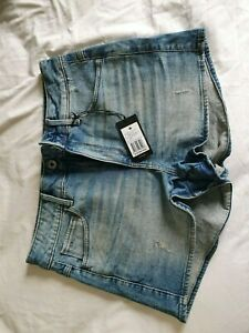 G-Star Raw Ladies denim shorts size 30