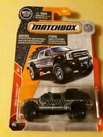 MATCHBOX #54 Ford F-350 Super Duty Police Truck, 2018 issue (NEW in BLISTER)