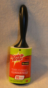 Scotch-Brite Lint Roller, Remover 105 Sheets Total Perfect for removing pet hair
