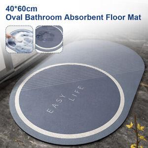 Bathroom Carpet Floor Mat Quick Drying Non-slip Mat Water Absorbent Bath Mat