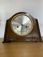 Stunning Art Deco HAC STRIKING MANTLE Clock AND WORKING ORDER