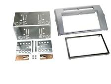 for Toyota Corolla Verso Car Radio Panel Mounting Frame Double DIN 2-din Silver
