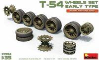 Miniart 1:35 scale  - T-54 Wheels Set Early Type  MIN37054