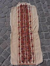 PALESTINIAN PALESTINE EMBROIDERY DRESS ANTIQUE TRADITIONAL ARAB FABRIC #