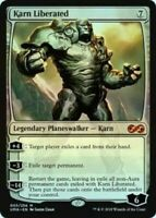 1x FOIL KARN LIBERATED - Ultimate Masters - MTG - Magic the Gathering
