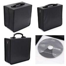 400 Discs CD DVD Storage Box Wallet Holder Binder Book Carrying Bag Zipper Case