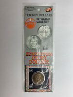 1983 NHL Official Edmonton Oilers Hockey Dollars Wayne Gretzky Sealed Original